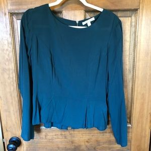 NWOT Banana Republic deep teal top, size 8 NWOT